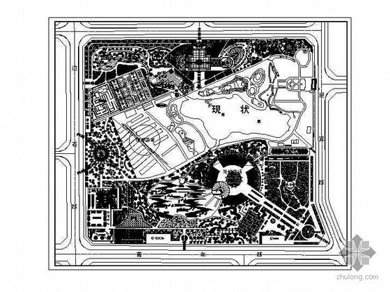 某综合公园总平面设计