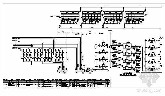 某制冷站水系统流程图