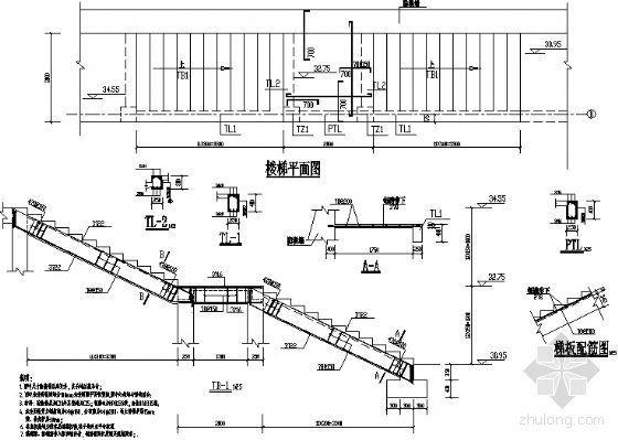 楼梯一结构图