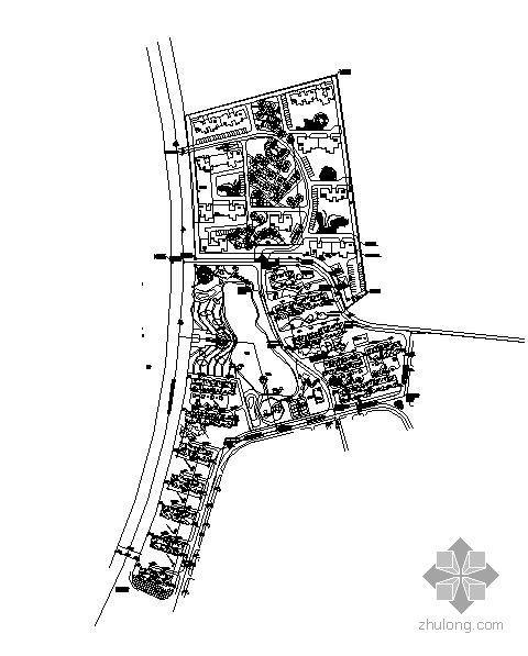 旧村改造总平面图