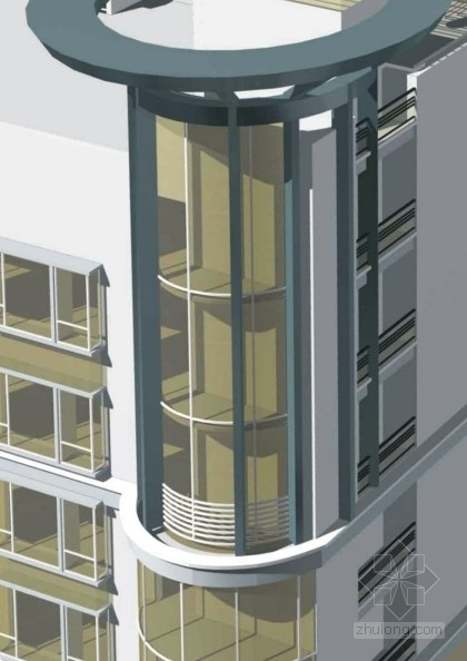 住宅区模型图