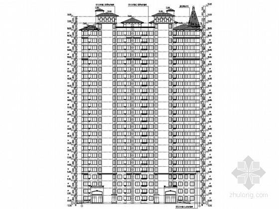 [河南]17000平24层高层住宅结构施工图(含建筑图)