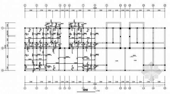 [学士]六层框架结构办公楼毕业设计(含计算书,建筑、结构图)