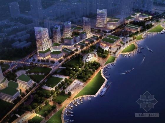 [上海]滨海地块城市综合体建筑设计方案文本(知名设计院)