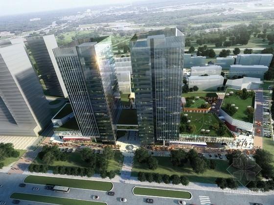 [哈尔滨]现代风格城市综合体及单体设计方案文本(知名地产)