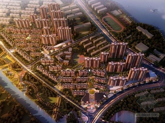 [江西]波士顿风格高层住宅区规划设计方案文本(知名设计院)