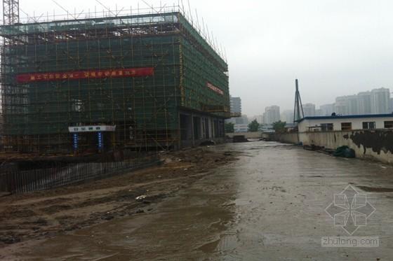 [杭州]建筑工程钢格构式塔吊基础施工方案