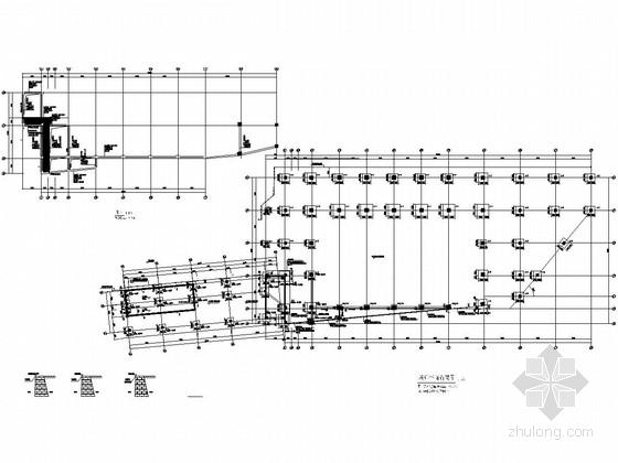 风雨操场及体育器材库结构施工图