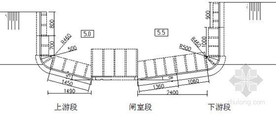 II级钢筋混凝土管参数资料下载-[毕业设计]潜孔钢筋混凝土水闸工程毕业设计195页
