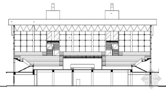 某二层体育馆建筑施工图