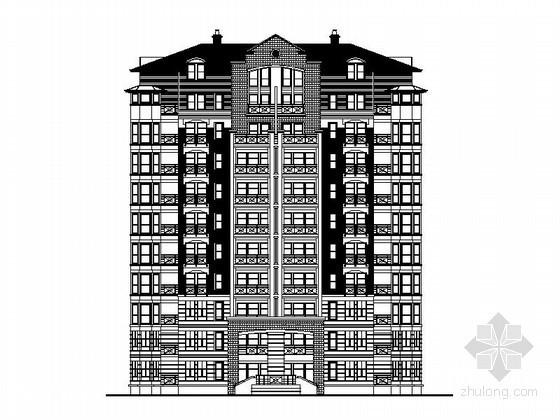 [重庆]某美地居住区多层、小高层住宅楼方案图(含效果图)