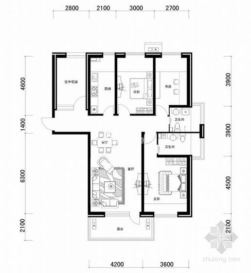 [合集]南北方250套优秀建筑户型图