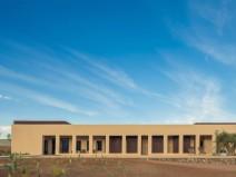 阿联酋极简沙漠水疗中心和酒店