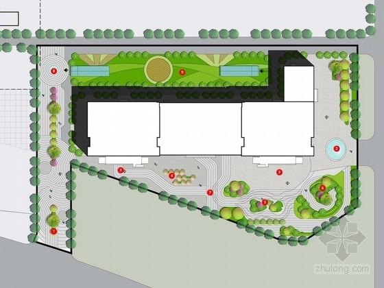 [河南]城市中央商务办公区景观规划设计方案