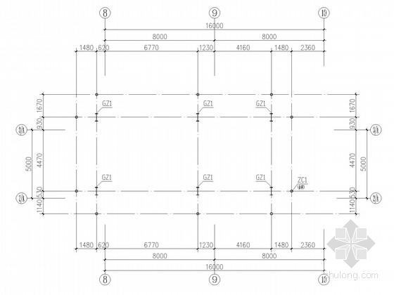 小型车间轻钢结构施工图