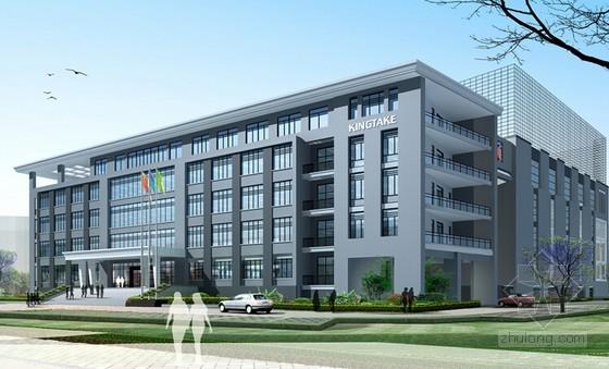 [河北]2014年4月钢结构研发楼建筑安装工程预算书(全套)