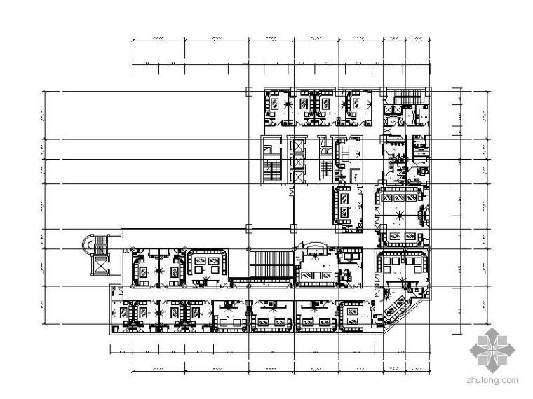 [昆明]某酒店夜总会室内装修施工图(含效果)