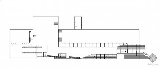 某著名大学三层学术报告厅建筑施工图