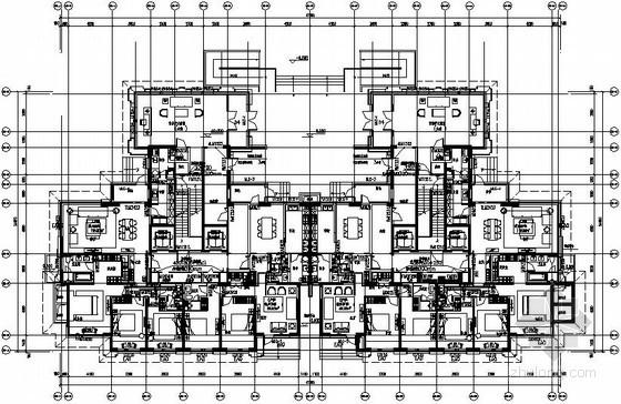 [哈尔滨]超高层住宅采暖通风设计施工图