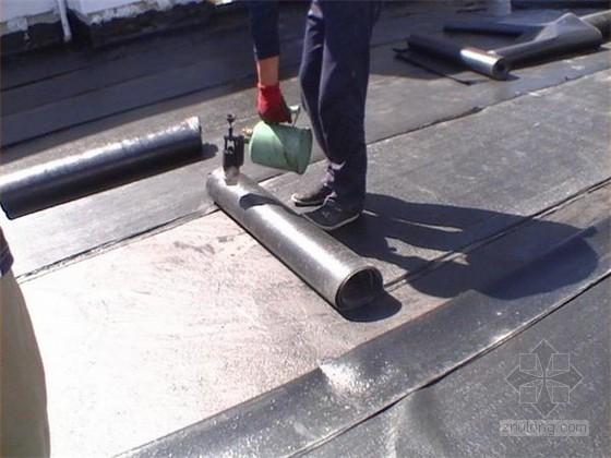 [山东]高层框剪结构综合楼屋面工程施工方案(水泥基渗透结晶防水涂料)