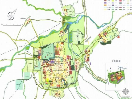 西安市城市总体规划设计文本(1953~2010)
