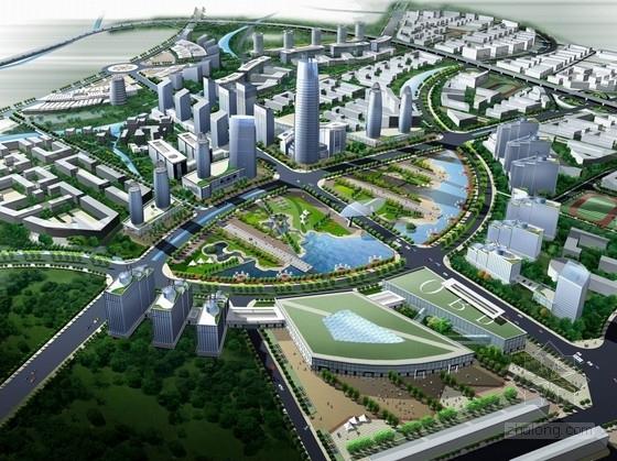 [福建]城市商业贸易中心地块规划方案文本