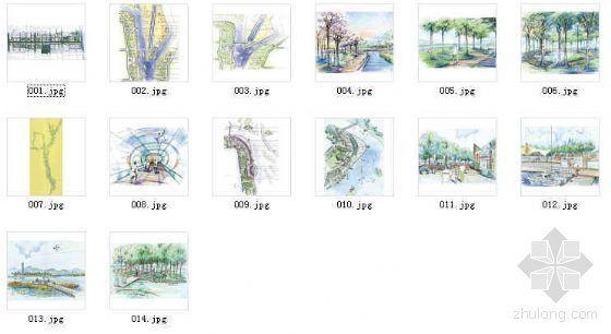 北京某景观大道设计方案-4