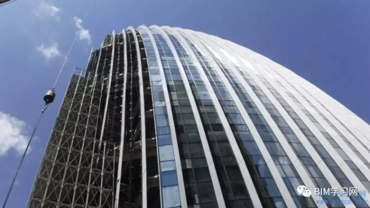 BIM应用于南港办公大楼案曲面帷幕建筑施工整合探讨