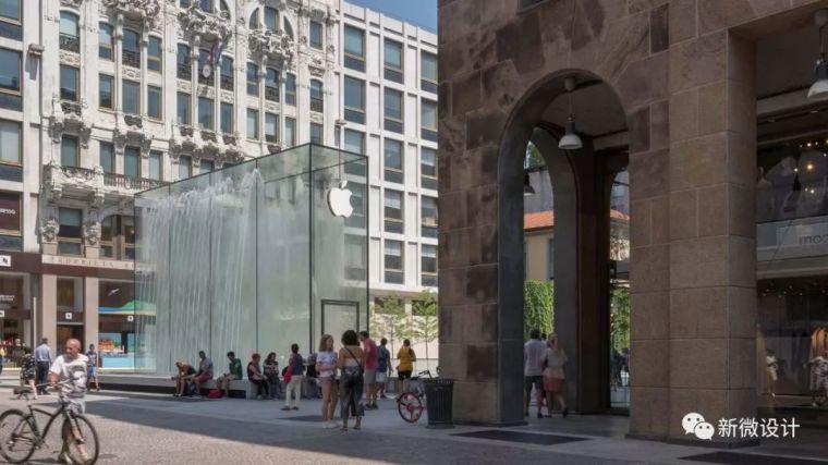 """苹果最新米兰旗舰店设计,被誉为""""欧洲最美苹果店""""_3"""