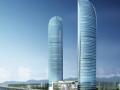 超高层框筒结构综合楼建筑施工图纸