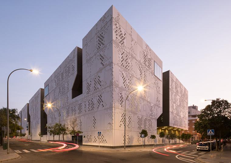 西班牙南部的新法院