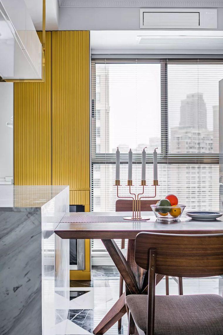 柠檬黄与宝石蓝,点亮美式简奢空间!