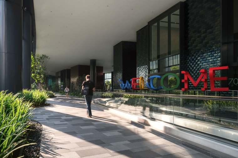 新加坡Comtech商业园区景观-10