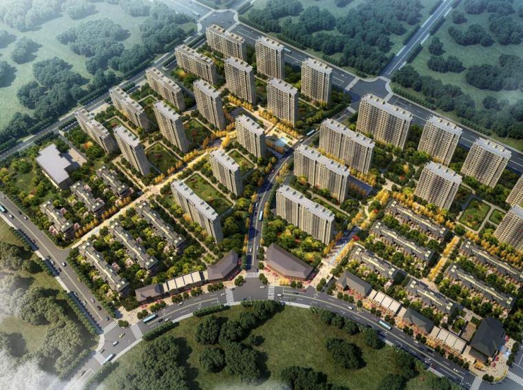 [江苏]扬州华建住宅区建筑概念规划设计(PDF+107页)