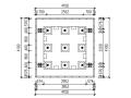 多层简单框架结构振动台模型设计