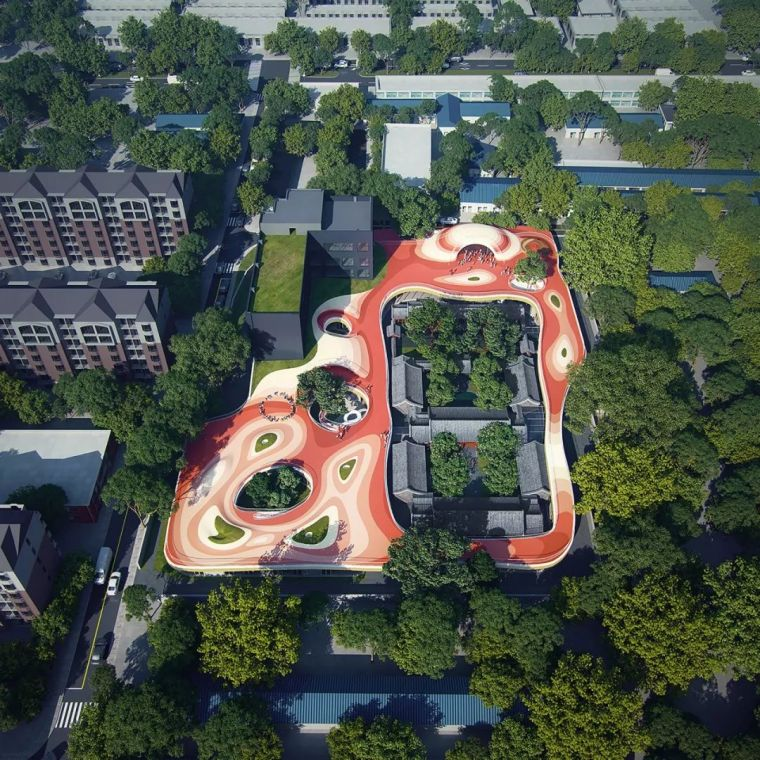 IF本色营造资料下载-经典有趣的校园景观设计
