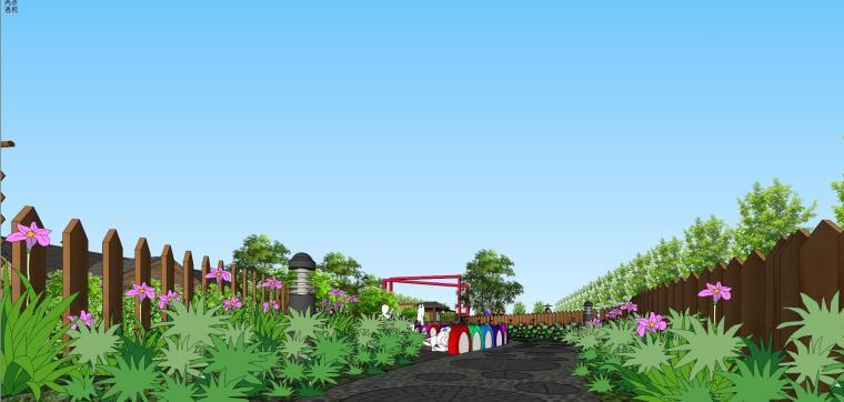 城市生态农业园民宿景观设计 8