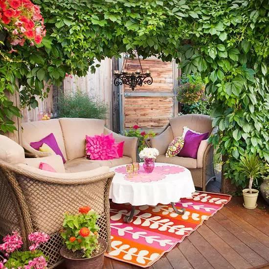 花园驻新颜,景观色彩搭配_11