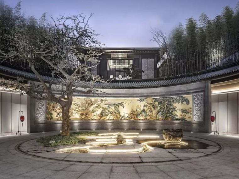 广州建发央玺示范区景观