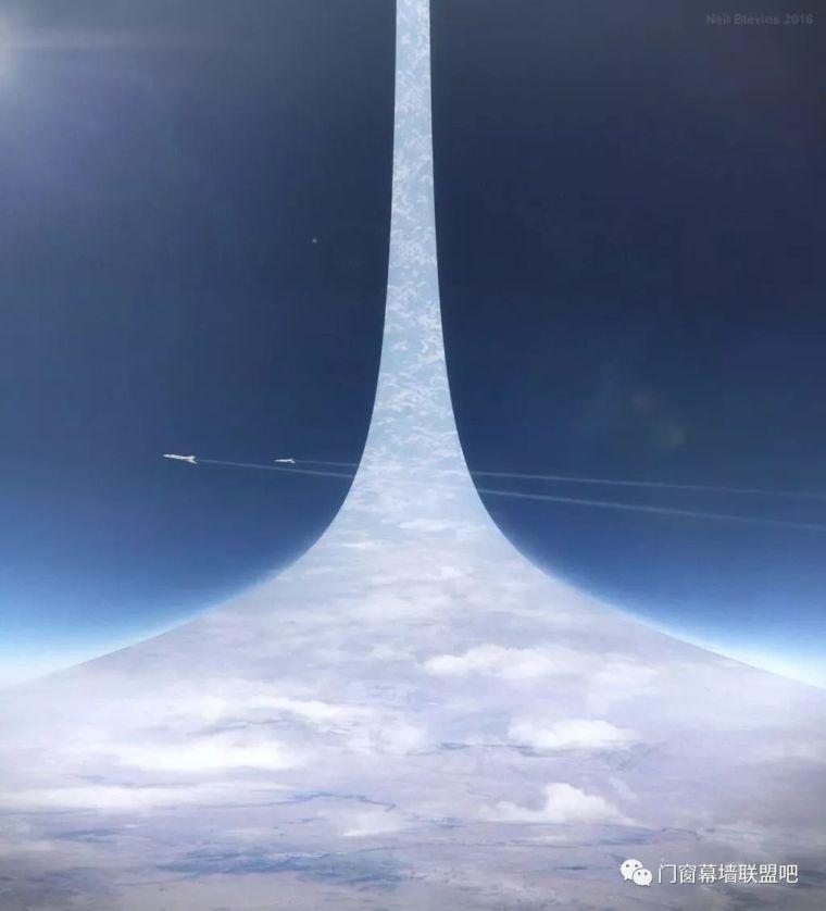 5万米高的建筑从天而降?!已有详细设计方案,施工能否实现全靠_17