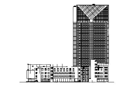 五星级商务酒店施工图