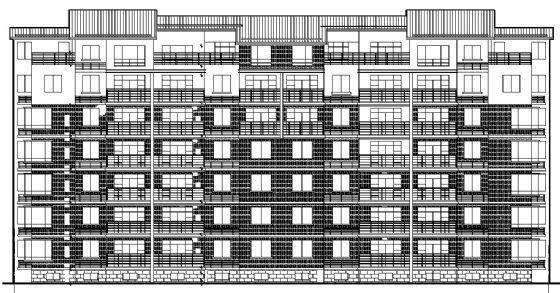 七层住宅建筑施工图