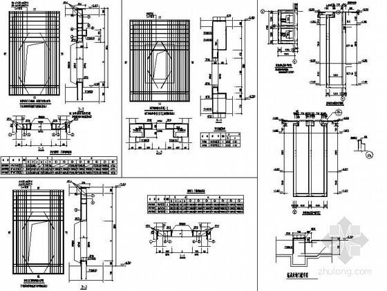 [浙江]框剪结构综合楼人防节点构造详图