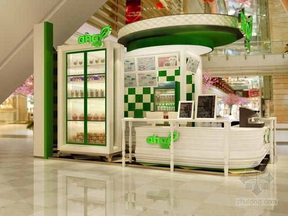 果留仙甜品店3d模型下载