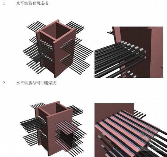[广东]超高层大厦大悬挑结构钢骨柱施工方案(多图)
