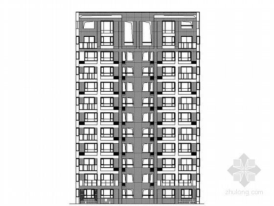 [天津]某花园住宅区十一层板式住宅建筑施工图(2、3、4、5号楼)