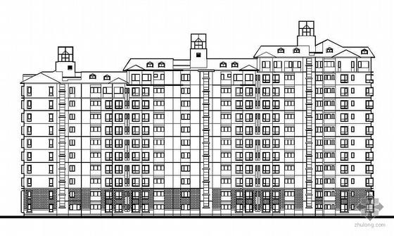 [深圳]某社区一期组合式单元住宅建筑结构施工图