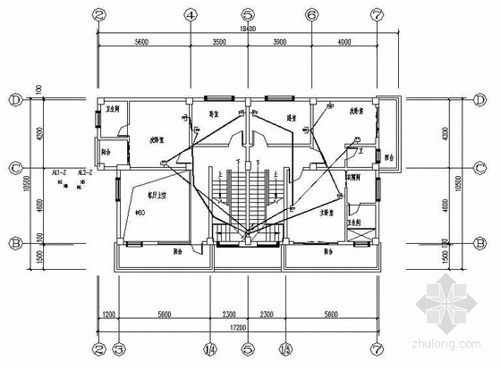 某私人住宅楼电气施工图