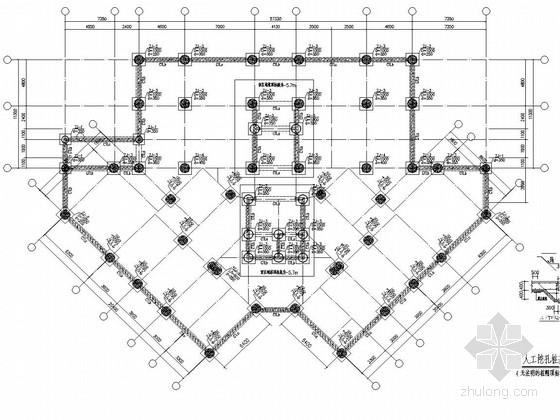 [四川]17层框支剪力墙商住楼结构施工图