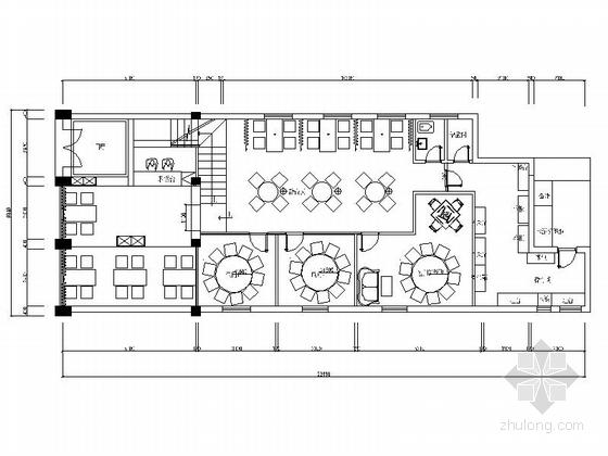 现代时尚餐厅室内设计装修图(含效果)